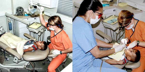 Photo of dental program at an american opportunity for housing location - by luis ramirez web print photography