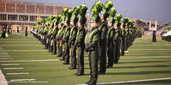 Reagan High School martial band by luis ramirez