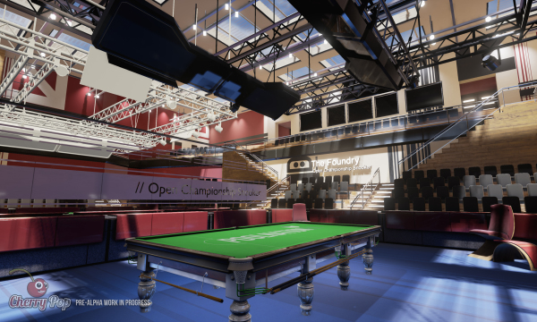 Snooker concept art...