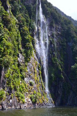 Waterfall of the Milford Sound