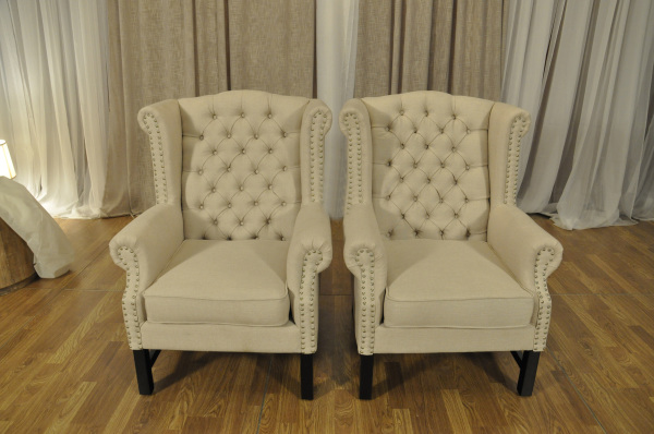 CAROLINE WING BACK CHAIRS