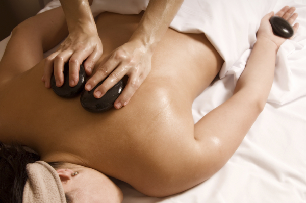 Depp Tissue Hot Stone Massage