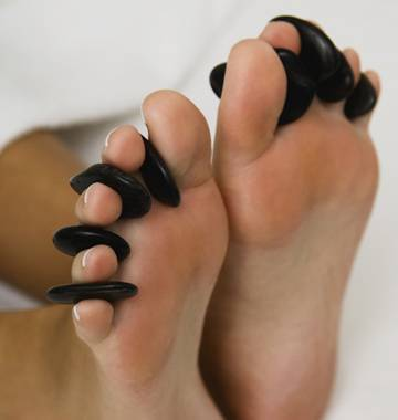 Foot Reflexology and Hot Stone Massage