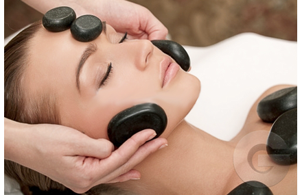 Hot Stone Massage Facial