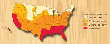 u.s. temite risk map