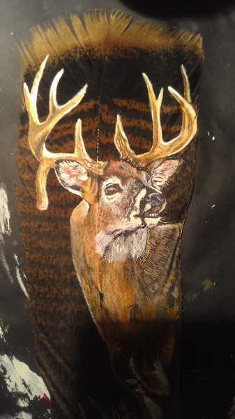 droptine buck up close