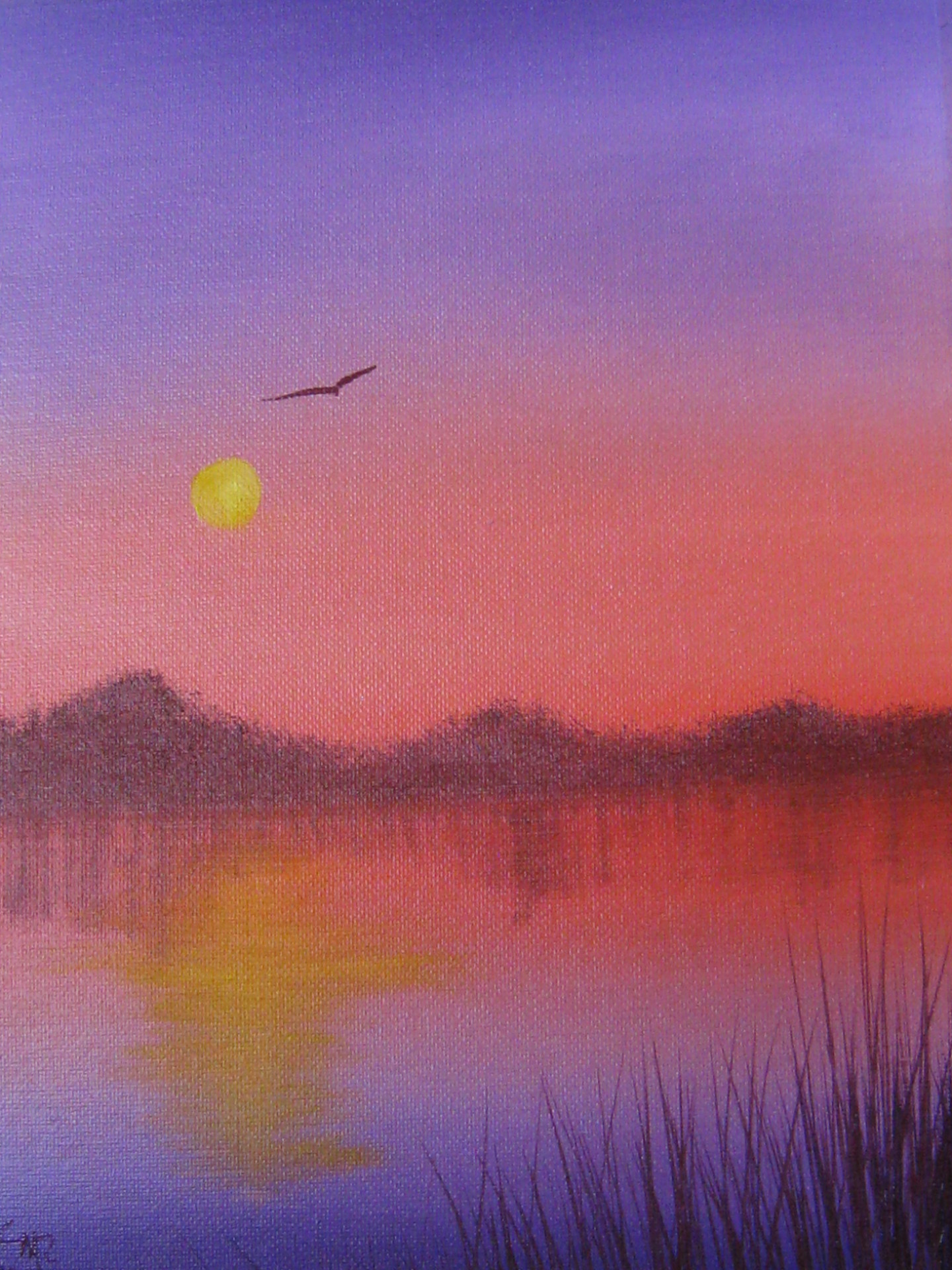 """Sunset Pond"""