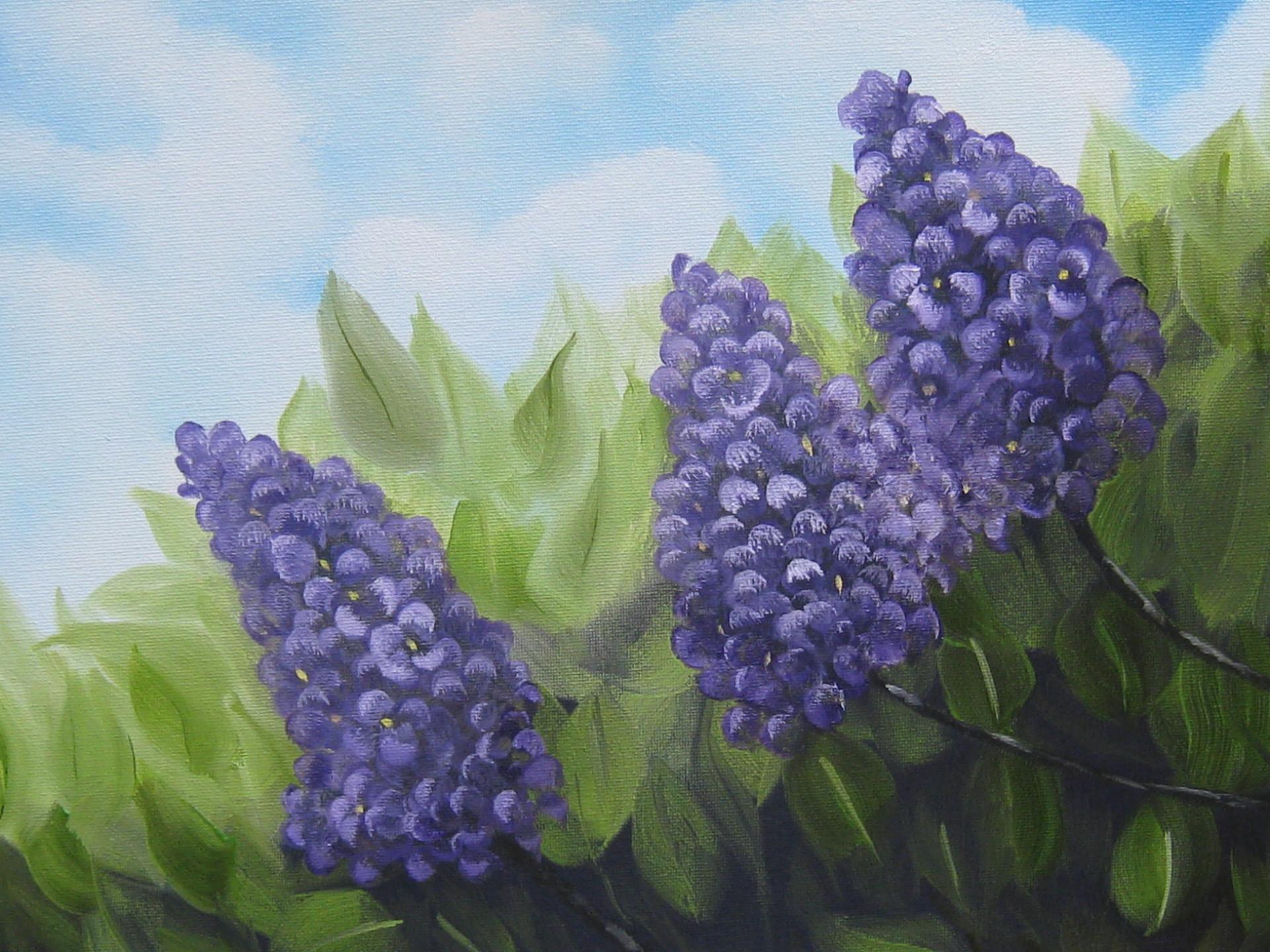 """""""Springtime Lilacs"""""""
