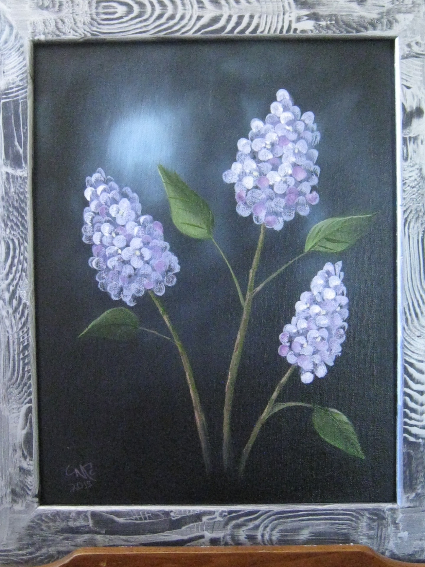 """Lilacs"" Painting Class Saturday, June 20, 2015, from 12-4 p.m."