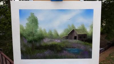 """Forgotten Farm"" Painting Class"