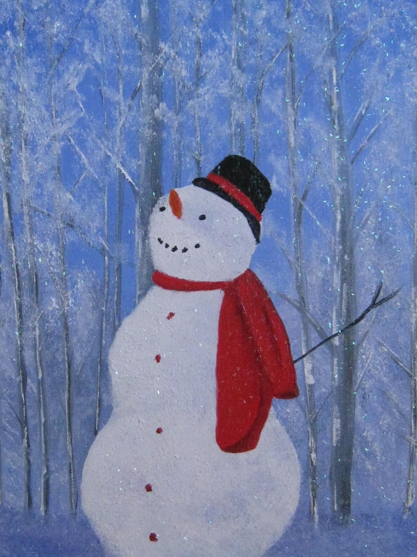 """""""Happy Snowman"""""""