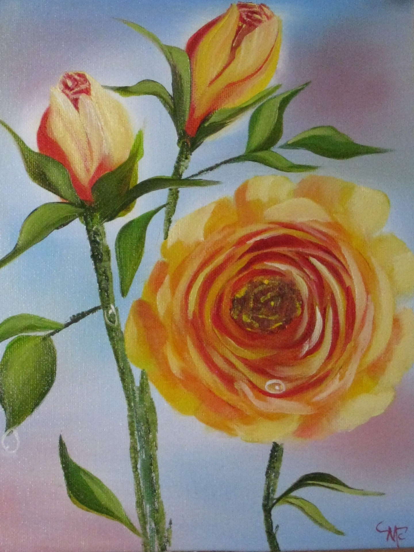 """Yellow Roses"""