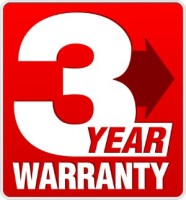 3 year warranty seal