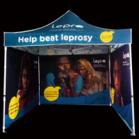 3m x 3m branded pop up gazebo