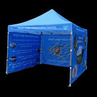 3m x 3m printed gazebo for Thames Water, Maple Cross