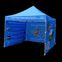 3m x 3m printed gazebo for Thames Water, Maple Cross
