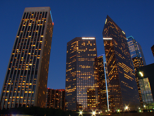 Bank Of America Tower LA