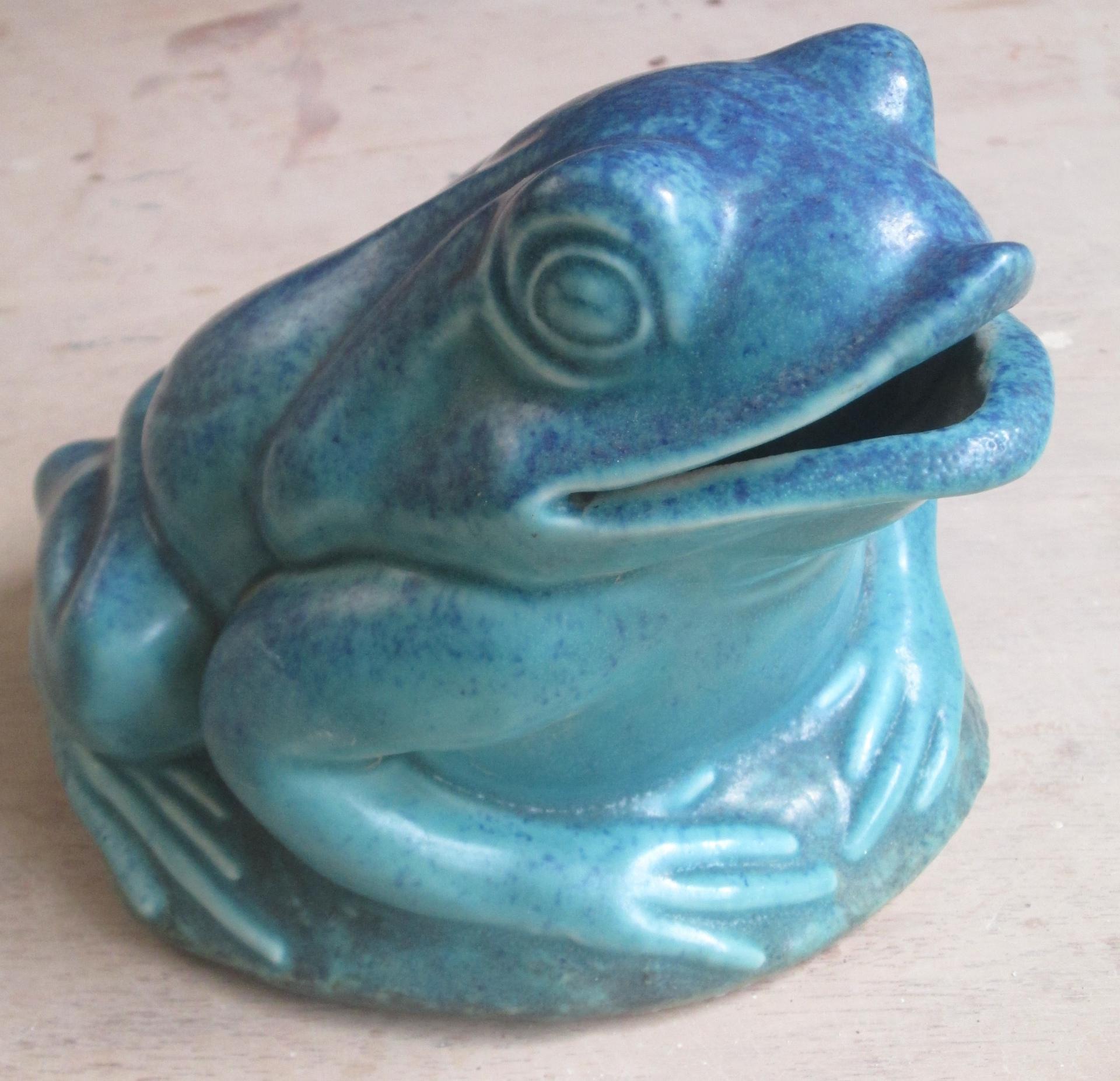 frog money box