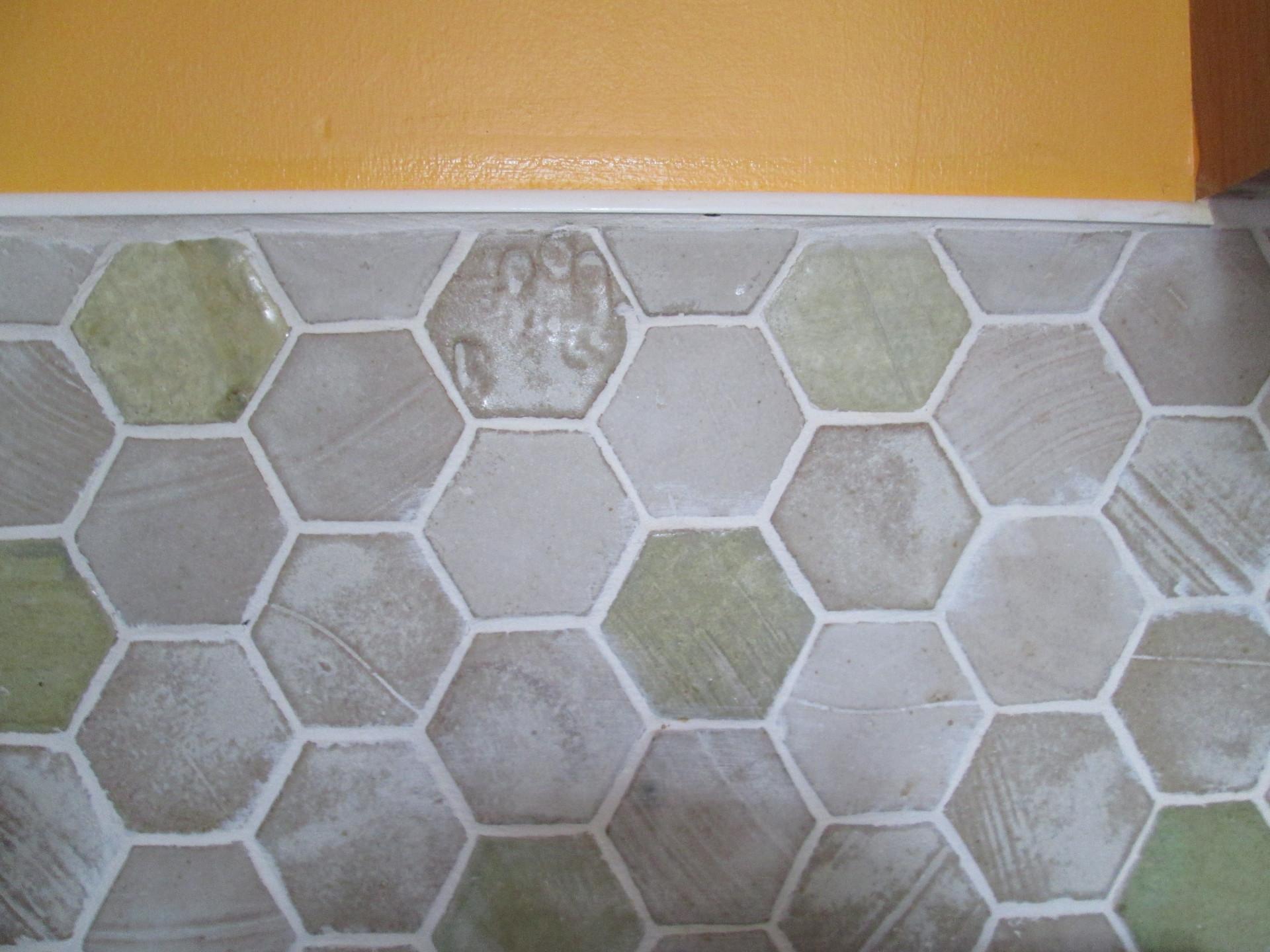 hexagonal kitchen tiles