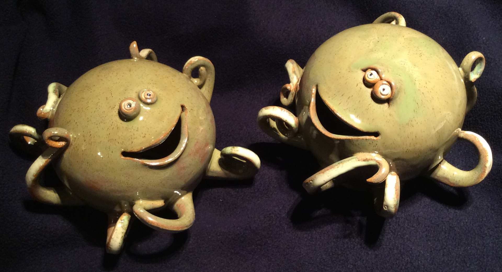 tentacled money boxes