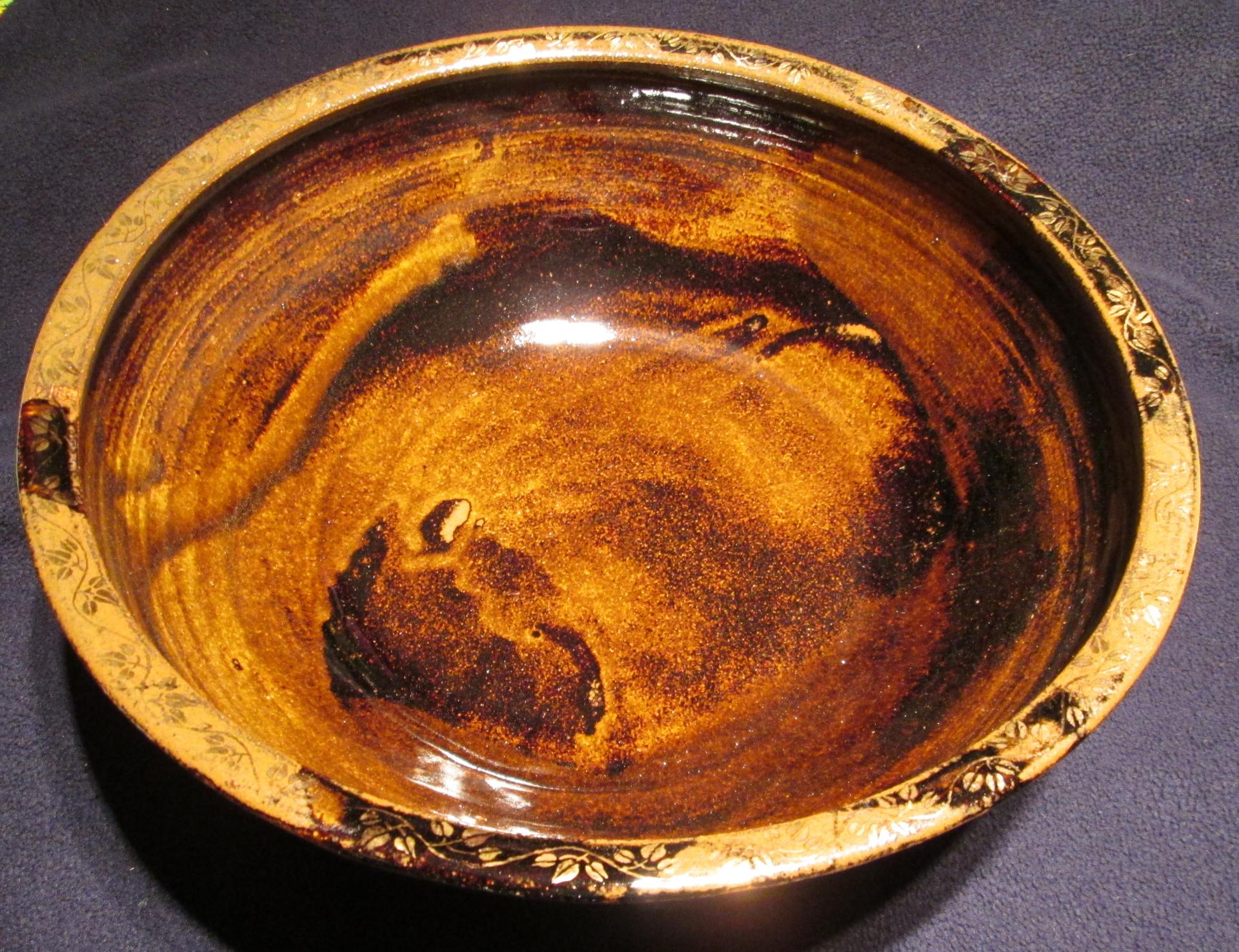 thrown fruit bowl