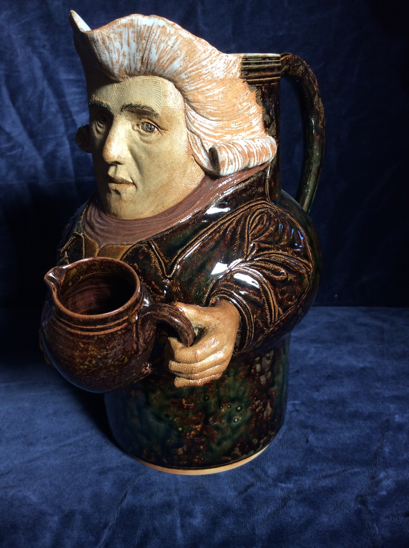 modelled jug of Josiah Wedgewood 38 cms high