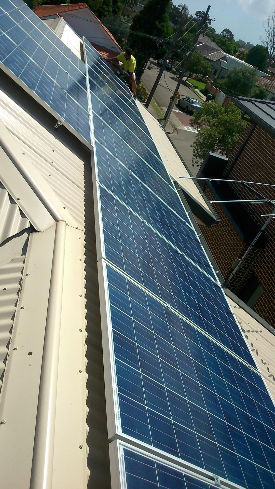 Solar panel penrith