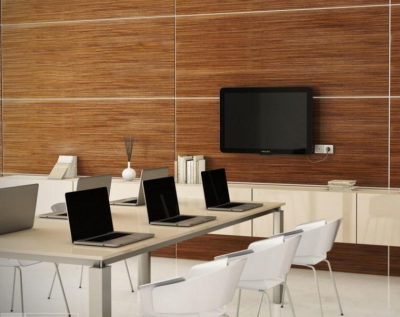 Timber veneer panelling|wall features|Slatted Wall|Ceiling Panels