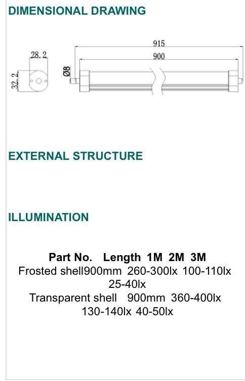 T8 LED TUBE LIGHT [G-LTC1P-TC3FT][G-LTC2P-TC3FT]