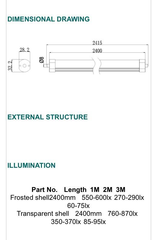 T8 TUBE LUBE LIGHT- [G-LTC1P-TC8FT][G-LTC2P-TC8FT]