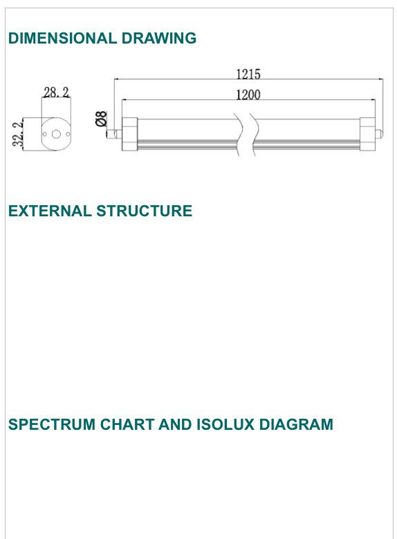 T8 LED TUBE LIGHT [G-LTC1P-TC4FT][G-LTC2P-TC4FT]