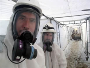 WORKING WITH ASBESTOS