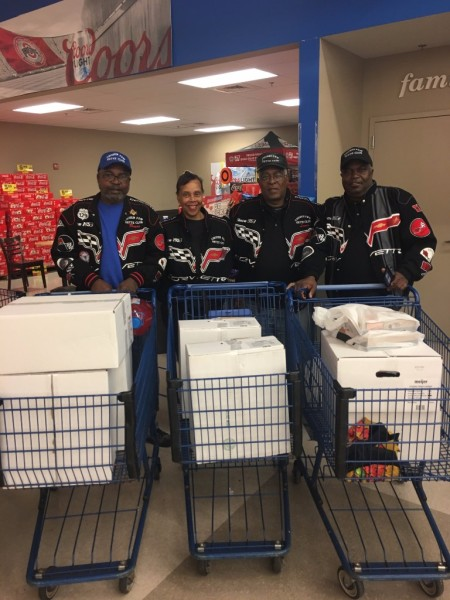 Thanksgiving Shopping for Needy Families