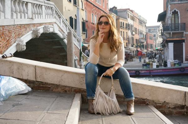 Giada in her own Venice