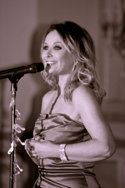 "Singing at ""Open Your Heart"" Fundraiser  for the Children's Home of Poughkeepsie, NY"