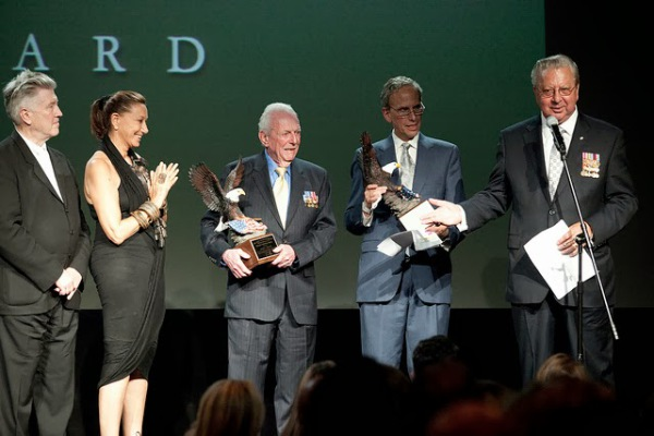 David Lynch, Donna Karan, Jerry Yellin, Bob Roth and Ed Schloeman