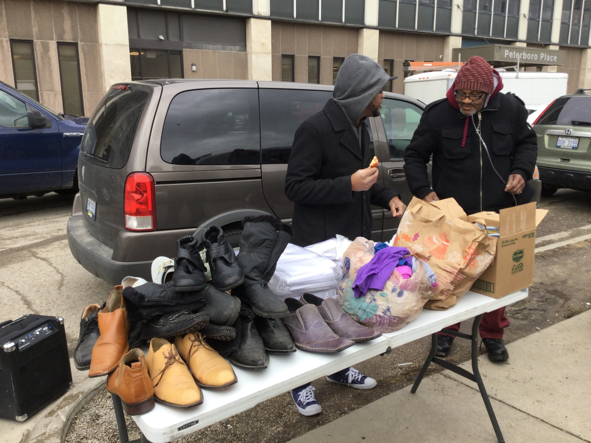 Supplying shoes and socks