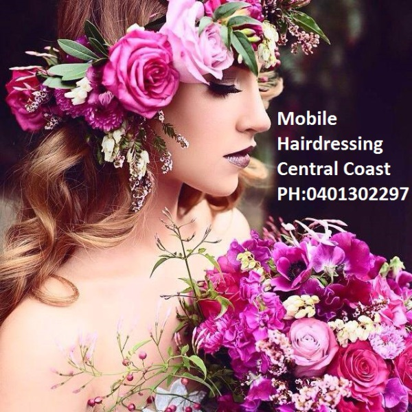 mobile hairdressing central coast