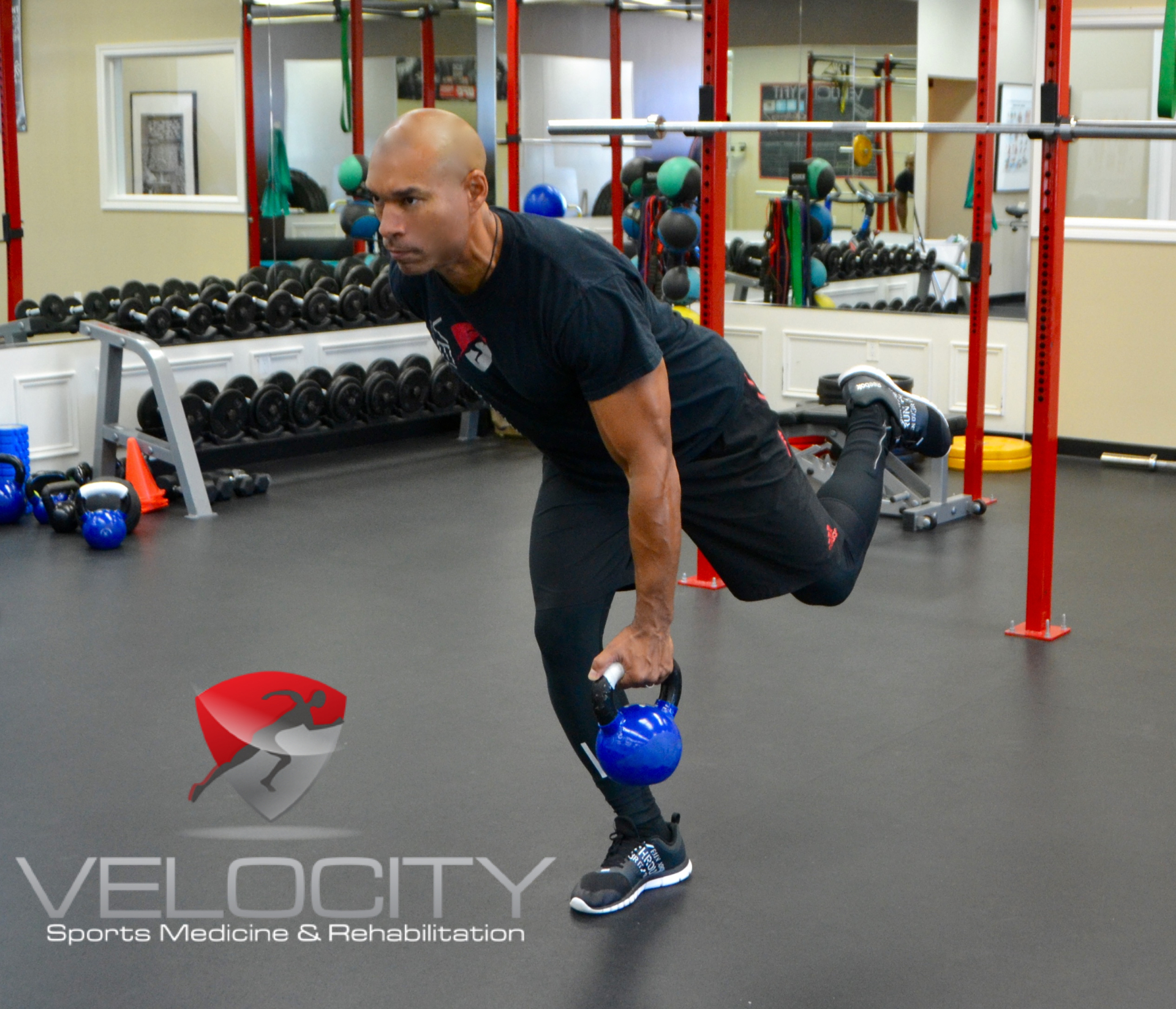Jeff Ransome working Kettlebells