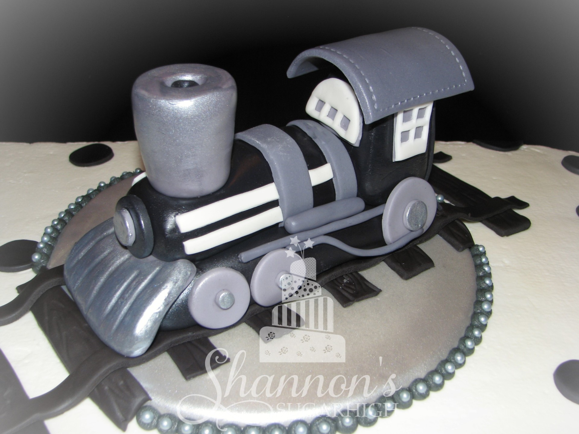 Steam Engine Topper