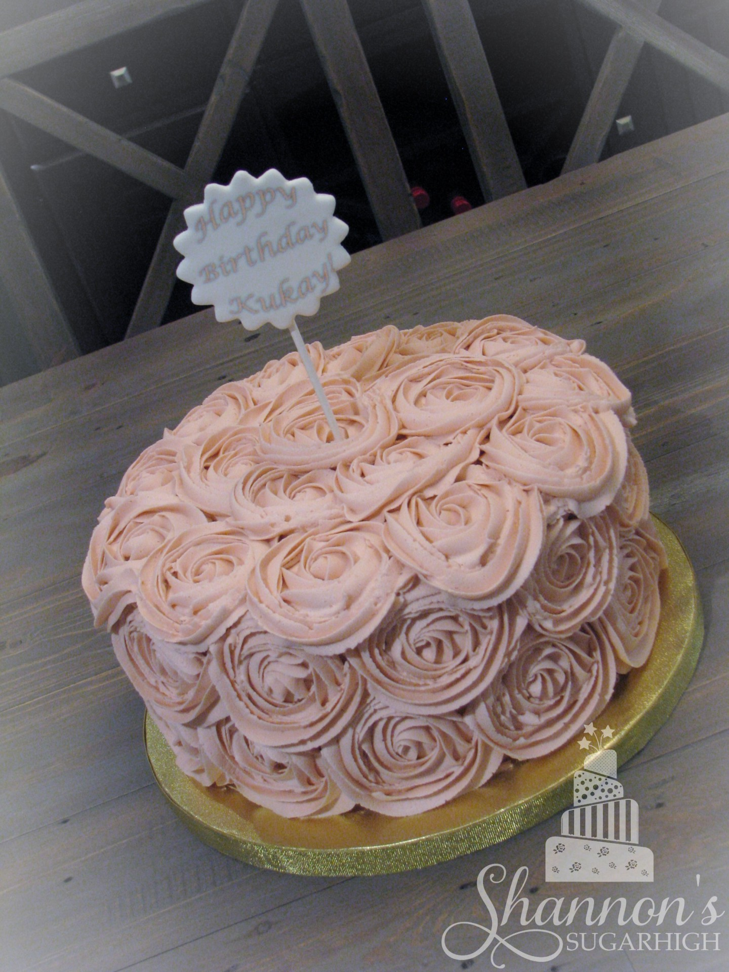 Buttercream Rosette