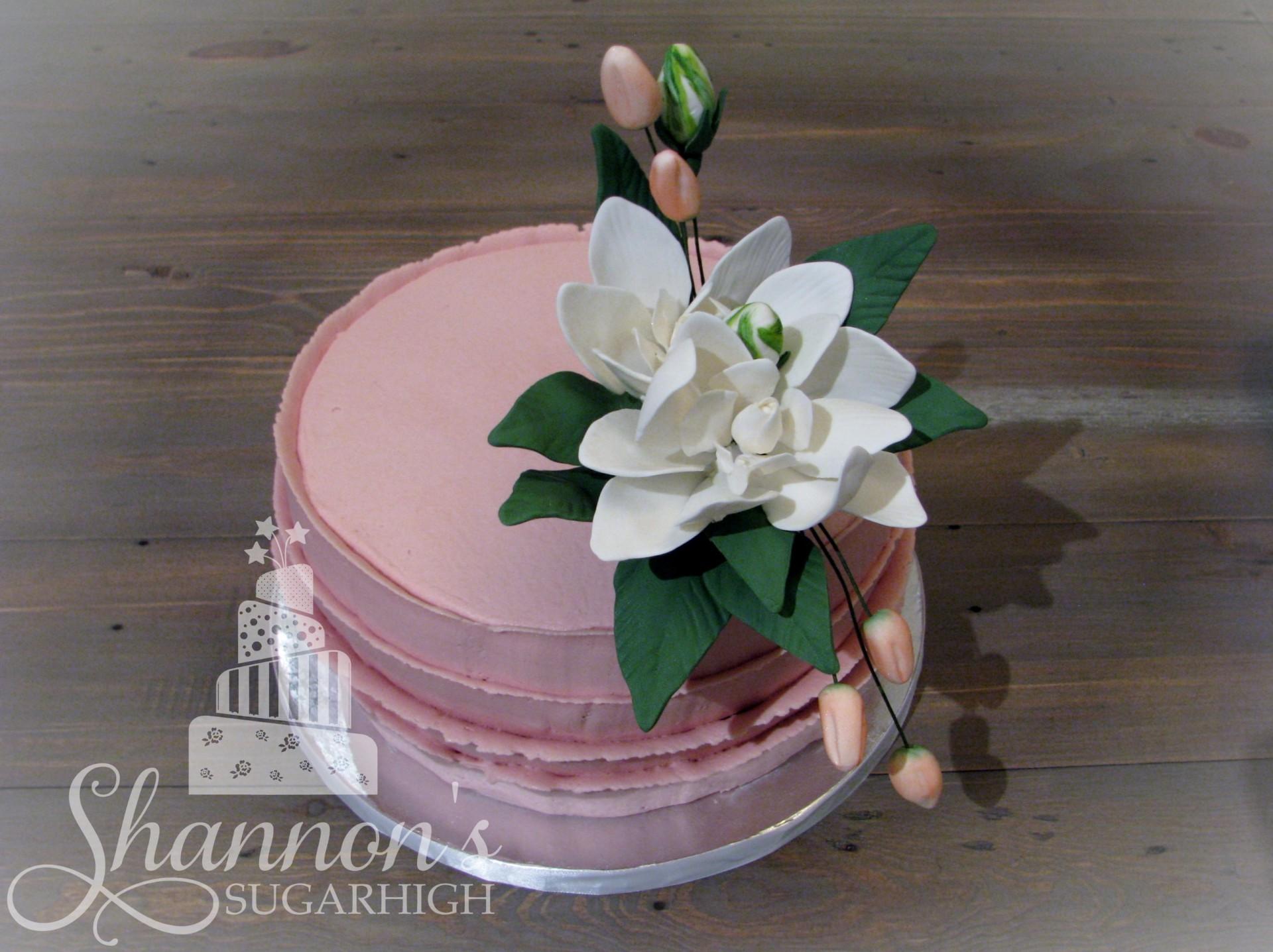 Gardenia Cake Topper