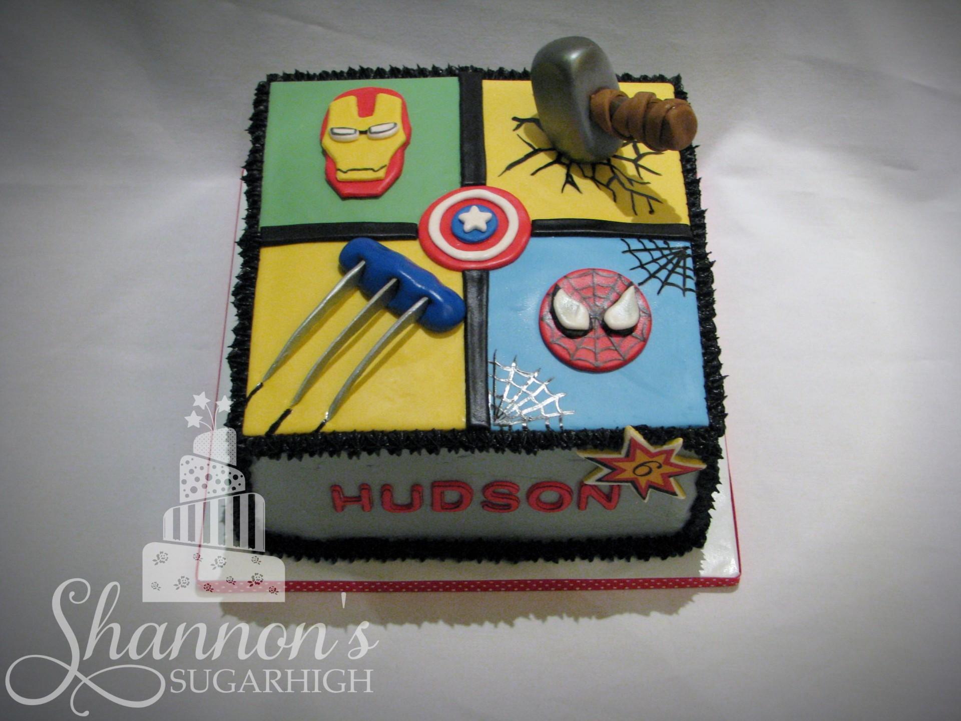 Square Superhero