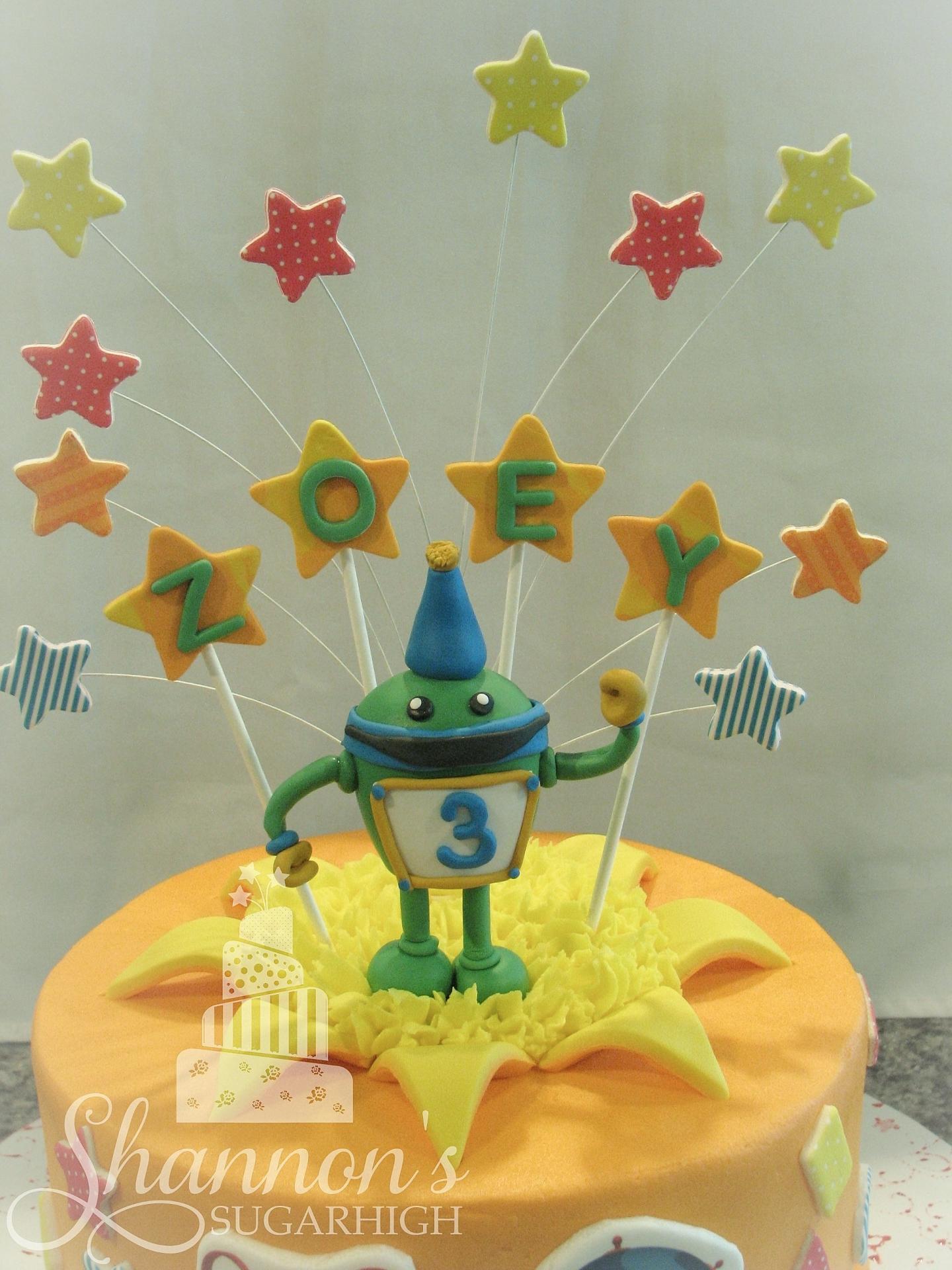 """""""Bot"""" Cake Topper"""