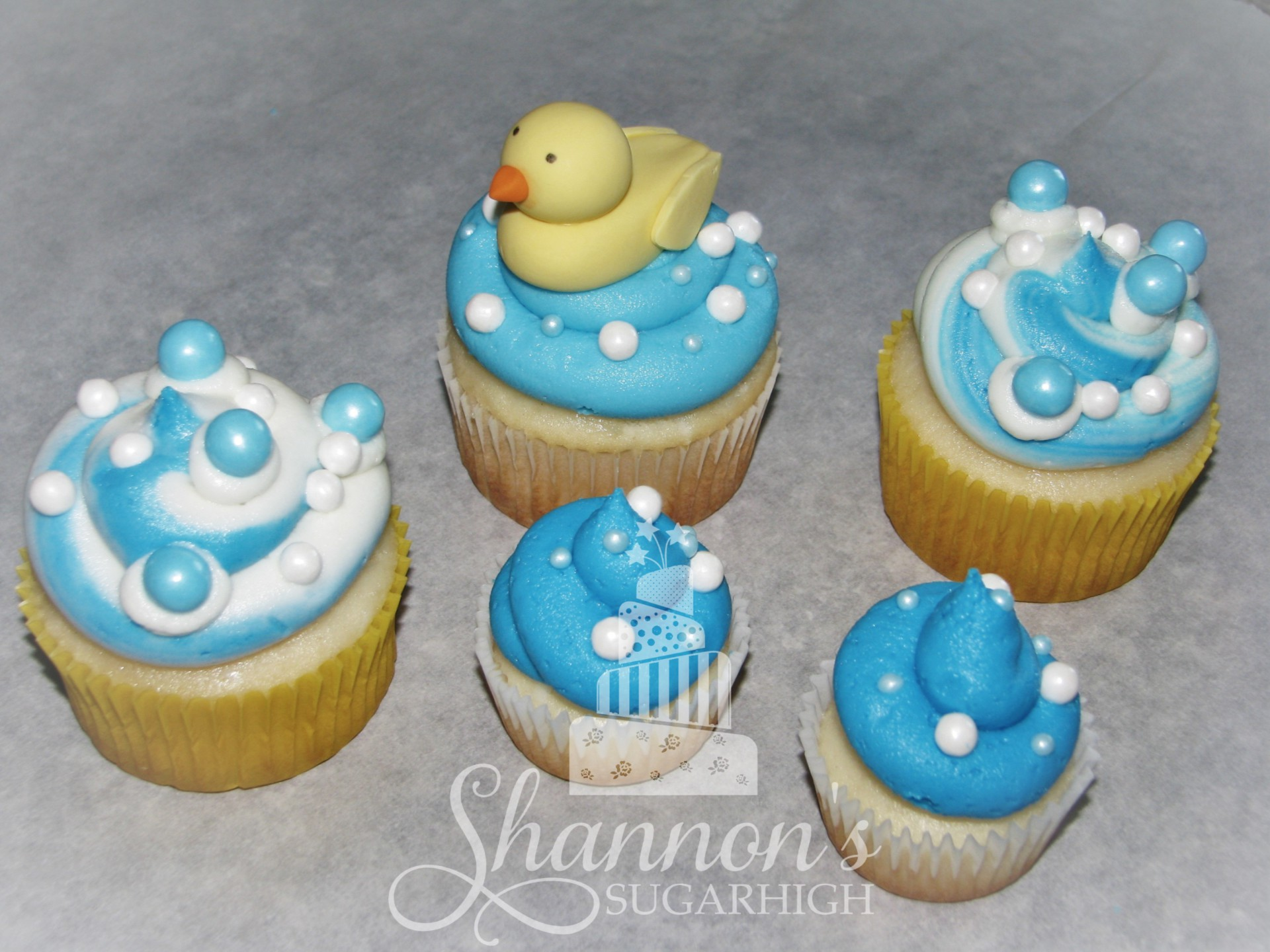 Bubbly Rubber Duckie