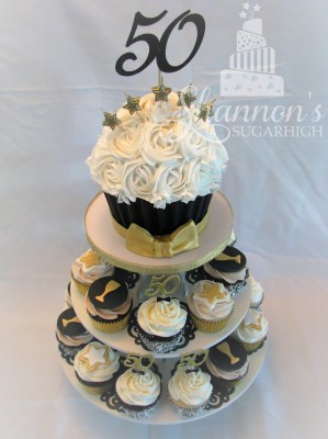 Giant Cupcake 50th