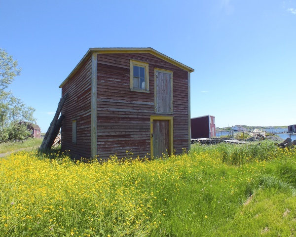 Old Barn, Tilting