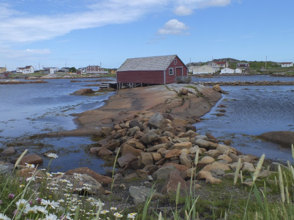 Fishing stage on Fogo Island