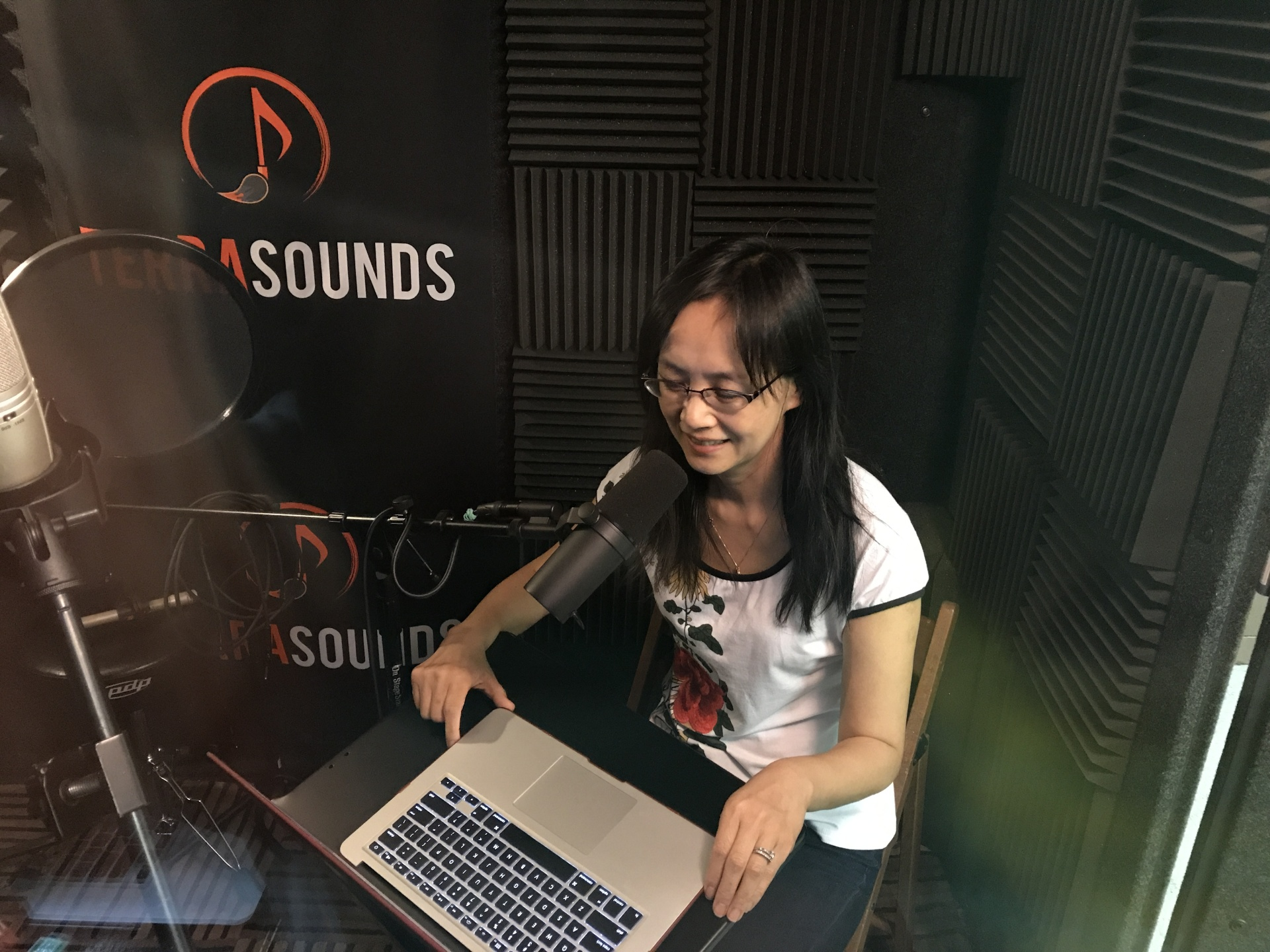 Chinese audio book recording