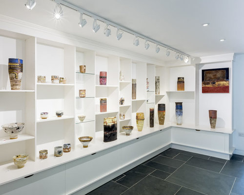 Picture of Robin's exhibition at The Leach Pottery, St. Ives.